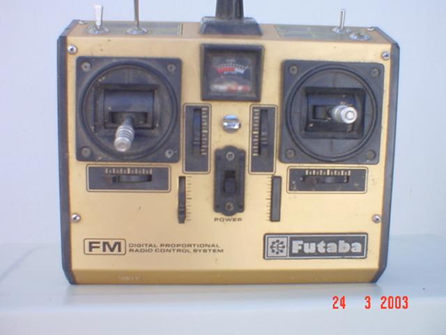 O Rádio Futaba FG FGFM